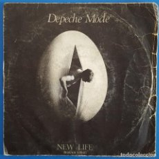 Discos de vinilo: SINGLE / DEPECHE MODE / NEW LIFE - SHOUT / 1981. Lote 186275140