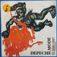 Discos de vinilo: SINGLE / DEPECHE MODE / IT'S CALLED A HEART - FLY ON THE WINDSCREEN / 1985. Lote 186275558