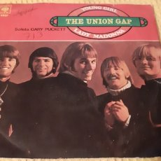 Discos de vinilo: THE UNION GAP. LADY MADONNA. CBS 3527. ESPAÑA.. Lote 186275591