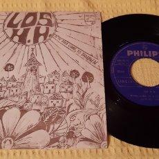 Discos de vinilo: MUY DIFICIL!!! LOS H.H. NUESTRO PUEBLO. SI TU ERES LIBRE, YO TAMBIEN. SINGLE 1968. PHILIPS.. Lote 186276595