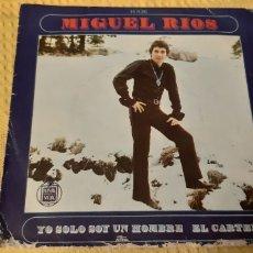 Discos de vinilo: MIGUEL RIOS. YO SOLO SOY UN HOMBRE. EL CARYEL. H 436. SPAIN. 1969.HISPAVOX. Lote 186279667