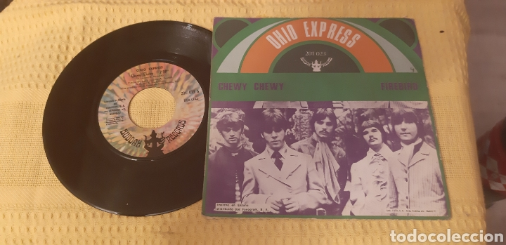 Discos de vinilo: Ohio Express. Chewy. Firebird. 201. 023 A. Buddha Records. España. - Foto 2 - 186280108