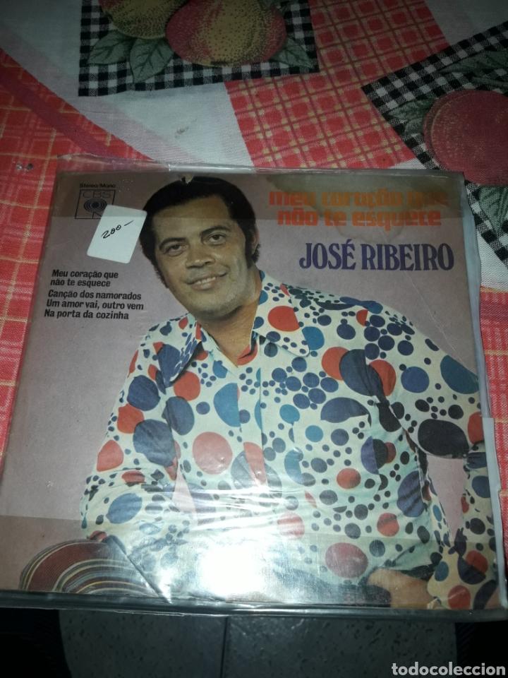 JOSÉ RIBEIRO. MEU CORACAO QUE NAO TE ESQUECE. EDICION CBS BRAZIL. RARO PARA COLECCIONISTAS (Música - Discos - Singles Vinilo - Grupos y Solistas de latinoamérica)