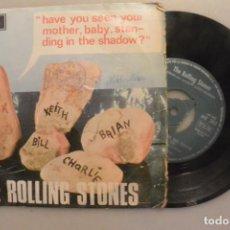 Discos de vinilo: DISCO SINGLE THE ROLLING STONES , HAVE YOU SEEN...DECCA 1966. Lote 186283638