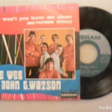 Discos de vinilo: DISCO SINGLE THE WEB WITH JOHN WATSON. DERAM 1969. Lote 186283737