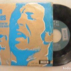 Discos de vinilo: DISCO SINGLE TOM JONES, A MINUTE OF YOUR TIMES, DECCA 1968. Lote 186283837