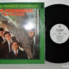 Discos de vinilo: LOS PEKENIKES - HILO DE SEDA - LP HISPAVOX S20.060 ESPAÑA 1978 VG++/VG++. Lote 186289695