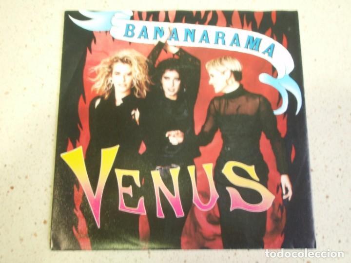 BANANARAMA - VENUS - WHITE TRAIN 1986-HOLANDA SINGLE LONDON RECORDS (Música - Discos de Vinilo - Singles - Pop - Rock Extranjero de los 80)