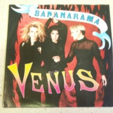 Discos de vinilo: BANANARAMA - VENUS - WHITE TRAIN 1986-HOLANDA SINGLE LONDON RECORDS. Lote 186290720
