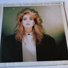 Discos de vinilo: SANDRA - IN THE HEAT OF THE NIGHT - 1985. Lote 186293807