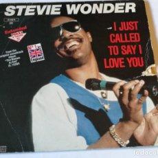 Discos de vinilo: STEVIE WONDER - I JUST CALLED TO SAY I LOVE YOU - 1984. Lote 186294142