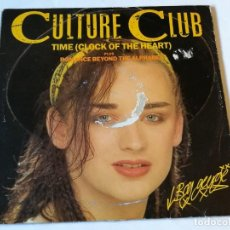 Discos de vinilo: CULTURE CLUB - TIME (CLOCK OF THE HEART) - 1982. Lote 186294448