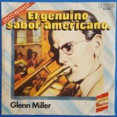 Discos de vinilo: EP / SONIDO WINSTON - EL GENUINO SABOS AMERICANO / GLENN MILLER-MARILYN MONROE / 1980 PROMO. Lote 186297191