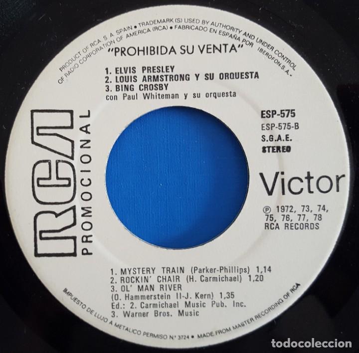 Discos de vinilo: EP / SONIDO WINSTON - EL GENUINO SABOS AMERICANO / GLENN MILLER-MARILYN MONROE / 1980 PROMO - Foto 4 - 186297191