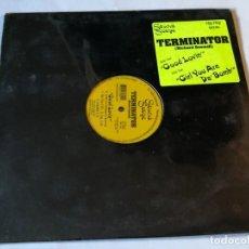 Discos de vinilo: TERMINATOR - GOOD LOVIN' / GIRL YOU ARE DA' BOMB - 1997. Lote 186298431