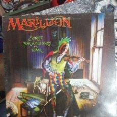 Discos de vinilo: MARILLION SCRIPT FOR A JESTER'S TEAR 1983 EMI.PORTADA ABIERTA. DISCO PROMOCIONAL.VINILO COMO NUEVO. Lote 186299715