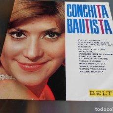 Discos de vinilo: CONCHITA BAUTISTA, LP, QUE BUENO, QUE BUENO + 13, AÑO 1965. Lote 186300976