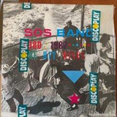 Discos de vinilo: SOS BAND* – THE SOS BAND 1980-1987: THE HIT MIXES. DISCO VINILO. ENTREGA 24H. Lote 186302227
