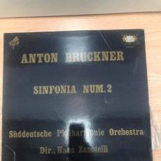 Discos de vinilo: ANTON BRUCKNER. Lote 186306878