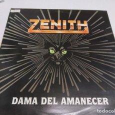 Discos de vinilo: ZENITH --- DAMA DEL AMANECER--EDICION 1989. Lote 186311180