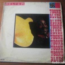 Discos de vinilo: T-BONE WALKER - T-BONE BLUES ********* RARO EP ESPAÑOL 1961. Lote 186318662
