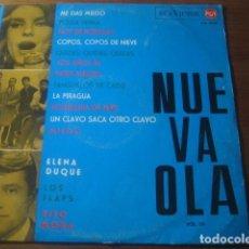 Discos de vinilo: VVAA - NUEVA OLA III ****************** RARO LP RCA 1965 ELENA DUQUE, TITO MORA, LOS FLAPS. Lote 186319233