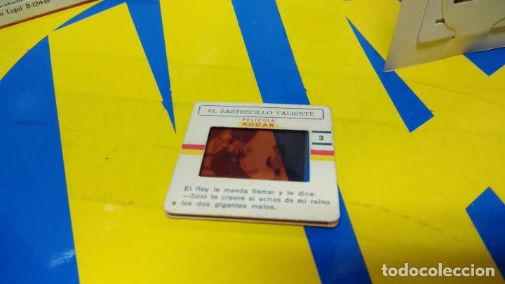 Discos de vinilo: La Bella Durmiente Publicación Infantil - 15 Diapositivas color con narración sonora -coleccionismo - Foto 2 - 186320861