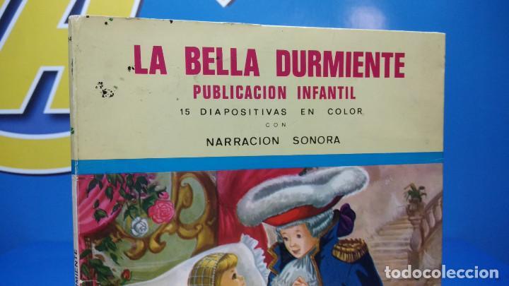 Discos de vinilo: La Bella Durmiente Publicación Infantil - 15 Diapositivas color con narración sonora -coleccionismo - Foto 6 - 186320861