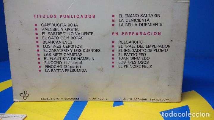 Discos de vinilo: La Bella Durmiente Publicación Infantil - 15 Diapositivas color con narración sonora -coleccionismo - Foto 8 - 186320861