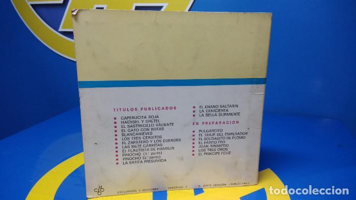 Discos de vinilo: La Bella Durmiente Publicación Infantil - 15 Diapositivas color con narración sonora -coleccionismo - Foto 9 - 186320861