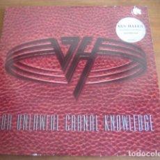 Discos de vinilo: VAN HALEN - FOR UNLAWFUL CARNAL KNOWLEDGE ******** RARO LP ALEMÁN 1991. Lote 186321083