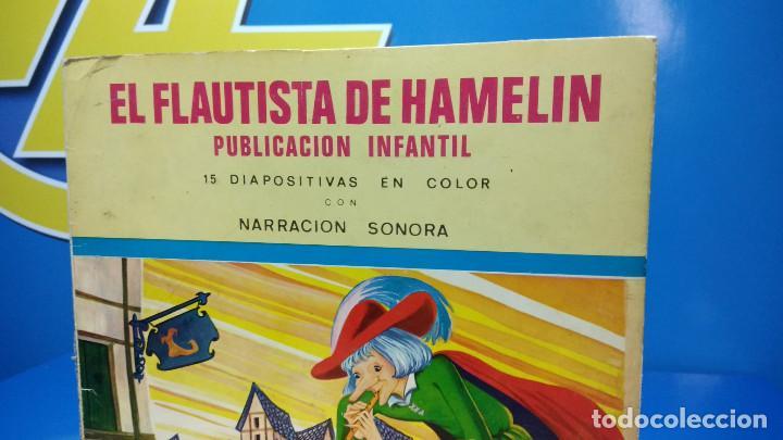 Discos de vinilo: El Flautista de Hamelin Publicación Infantil - 15 Diapositivas en color con narración sonora - Foto 2 - 186321460