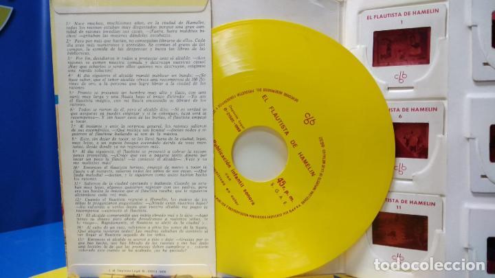 Discos de vinilo: El Flautista de Hamelin Publicación Infantil - 15 Diapositivas en color con narración sonora - Foto 4 - 186321460