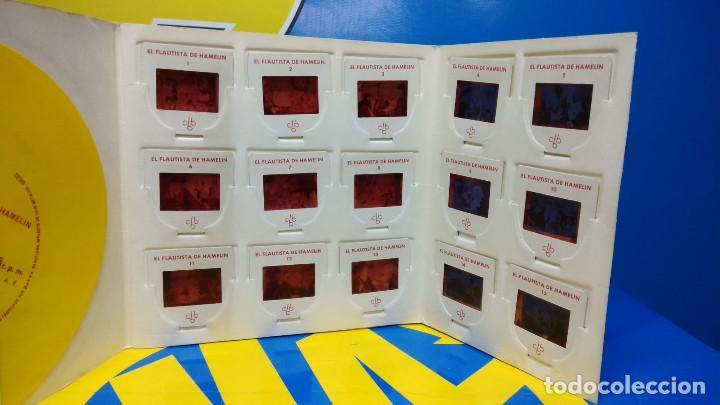 Discos de vinilo: El Flautista de Hamelin Publicación Infantil - 15 Diapositivas en color con narración sonora - Foto 6 - 186321460