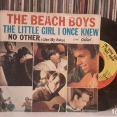 Discos de vinilo: BEACH BOYS - THE LITTLE GIRL I ONCE KNEW. Lote 186321731