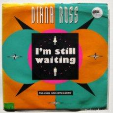 Discos de vinilo: DIANA ROSS - I'M STILL WAITING - SINGLE MOTOWN 1990 UK BPY. Lote 186321877