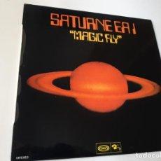 Discos de vinilo: SATURNE EA 1- MAGIC FLY - SPAIN LP 1977- VINILO EXC. ESTADO.. Lote 186322042