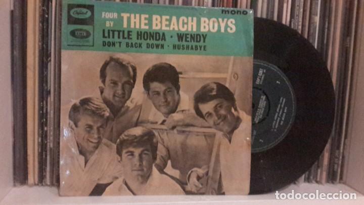 BEACH BOYS - LITTLE HONDA (Música - Discos de Vinilo - EPs - Pop - Rock Internacional de los 50 y 60)