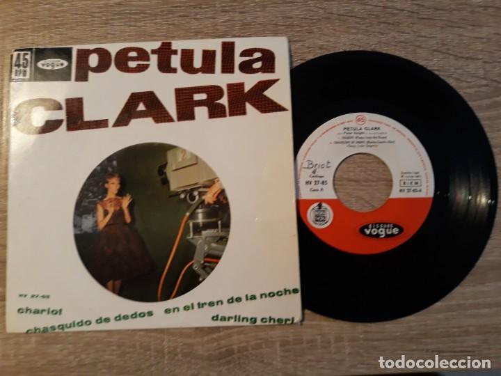 PETULA CLARK ,CHARIOT,CHASQUIDO DE DEDOS ETC..1962. (Música - Discos de Vinilo - EPs - Pop - Rock Internacional de los 70)