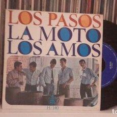 Discos de vinilo: PASOS - LA MOTO. Lote 186323377