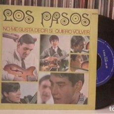 Discos de vinilo: PASOS - NO ME GUSTA DECIR SI. Lote 186323557