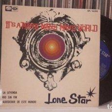 Discos de vinilo: LONE STAR - IT´S A MAN´S WORLD. Lote 186325577