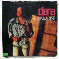 Discos de vinilo: DIANA (DIANA ROSS) - PARADISE - SINGLE EMI 1989 UK BPY. Lote 186325677
