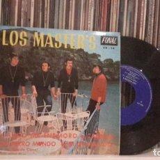 Discos de vinilo: MASTERS - CUANDO ME ENAMORO - MUY RARO Y DIFICIL. Lote 186326163