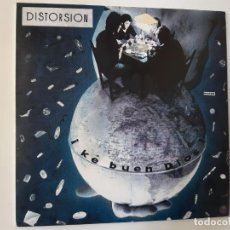 Discos de vinilo: DISTORSION- KE BUEN DIOS - SPAIN LP 1988.. Lote 186328718