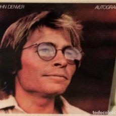 Discos de vinilo: JOHN DENVER - AUTOGRAPH R C A - 1980. Lote 186329155