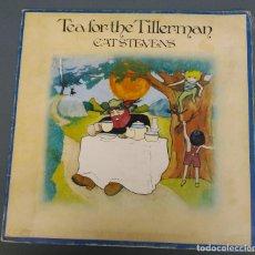 Dischi in vinile: CAT STEVENS - TEA FOR THE TILLERMAN - LP PORTADA ABIERTA- ISLAND 1971. Lote 186331498