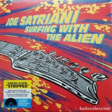 Discos de vinilo: LP JOE SATRIANI SURFING WITH THE ALIEN 2LP VINILO ROJO + VINILO AMARILLO NUEVO PRECINTADO. Lote 186332581