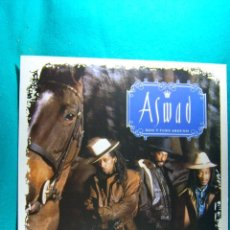 Discos de vinilo: ASWAD-DON'T TURN AROUND-WOMAN-LP-MADRID-1988.. Lote 186337917