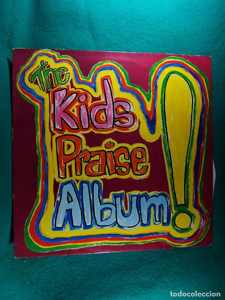 THE KIDS PRAISE ALBUM-LP-MADE IN ENGLAND-MARANATHA-MUSICA CRISTIANA PARA NIÑOS-1981. (Música - Discos de Vinilo - EPs - Música Infantil)